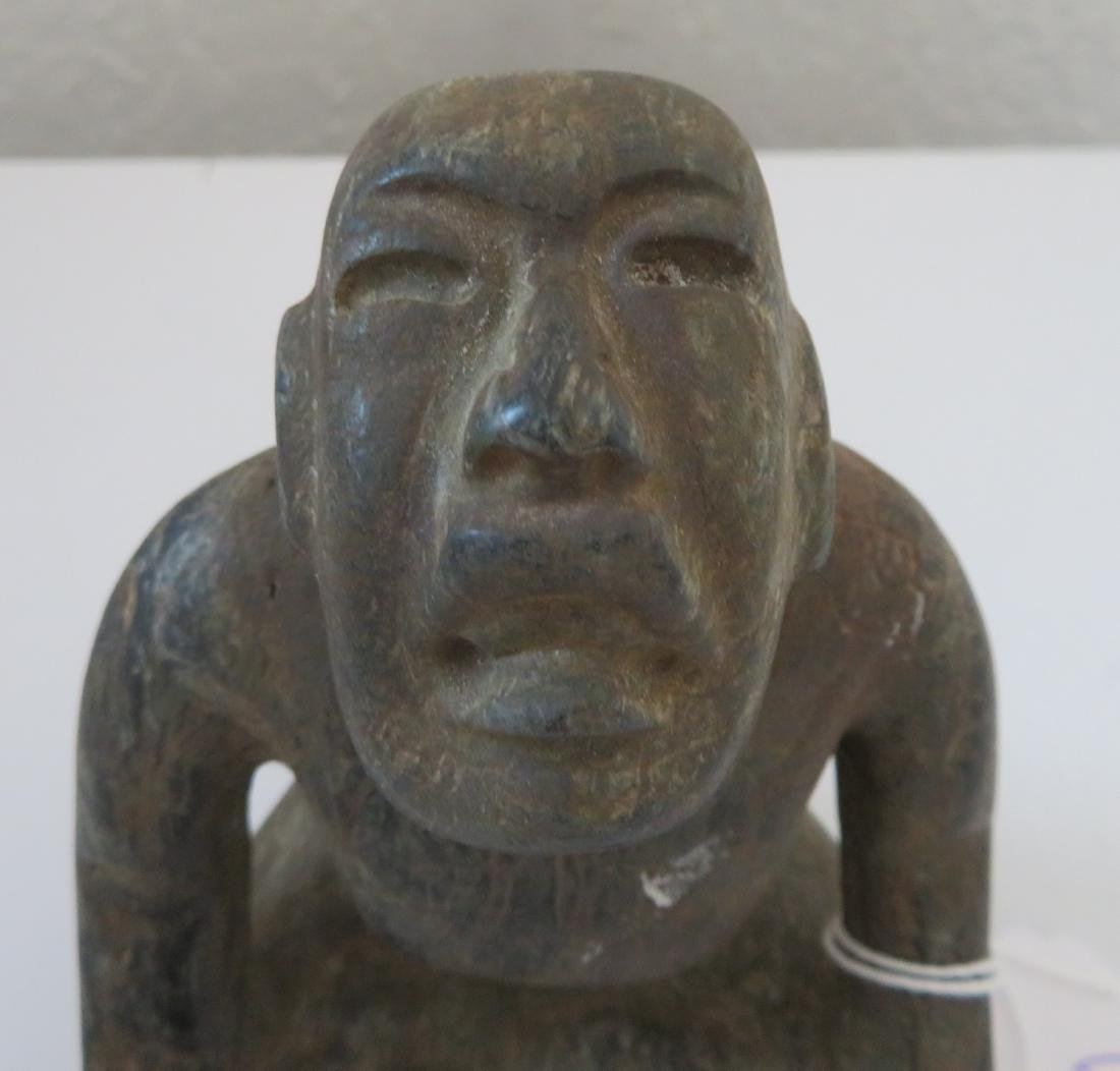 Olmec Seated Stargazer - 2
