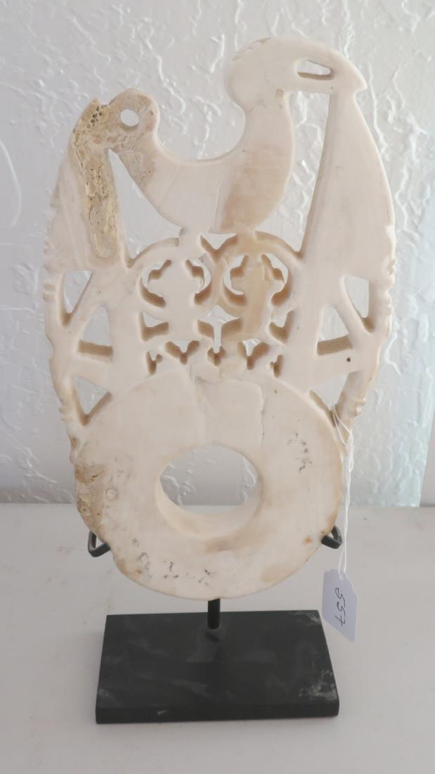 Solomon Islands Bokolo Shell Carving