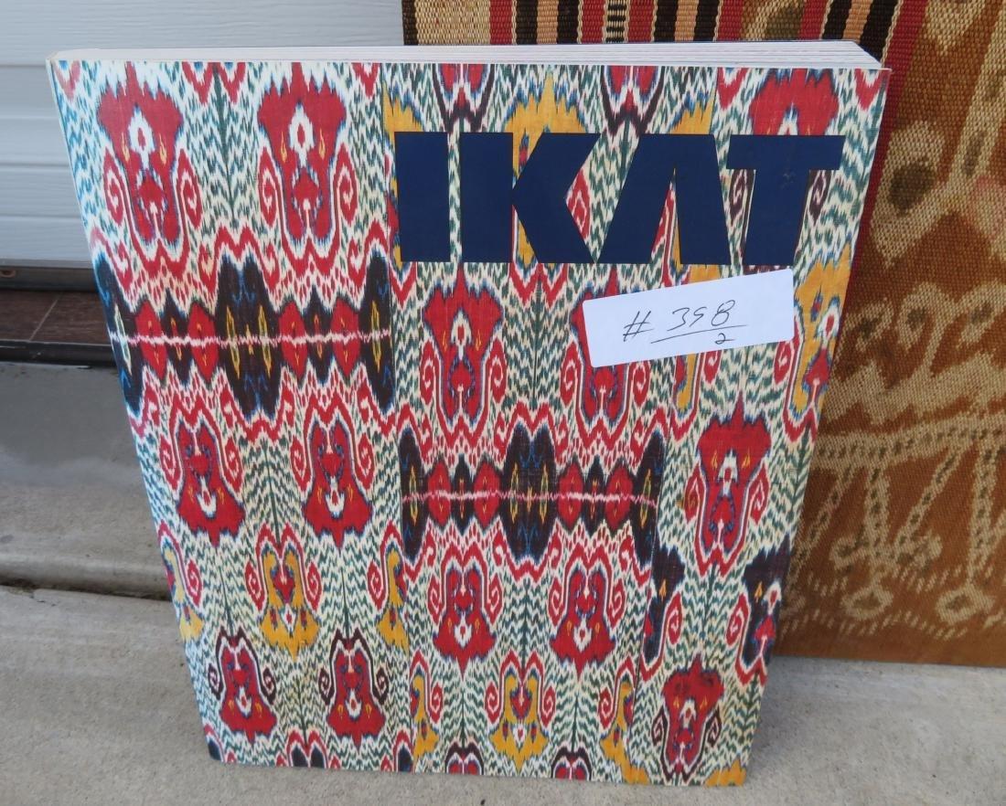 Ikat Indonesian Framed Textile - 2