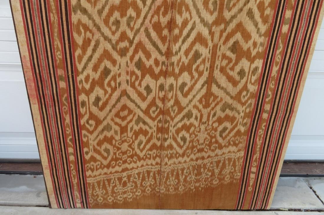 Ikat Indonesian Framed Textile - 5