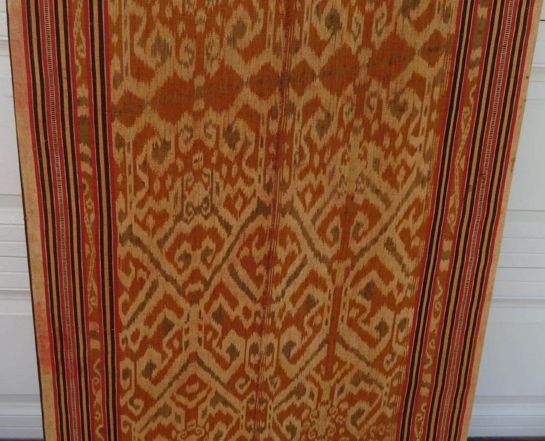Ikat Indonesian Framed Textile - 6