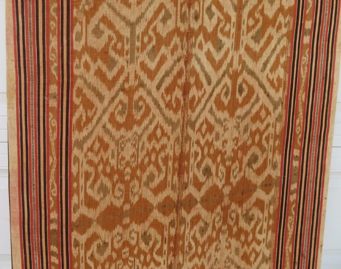 Ikat Indonesian Framed Textile - 7