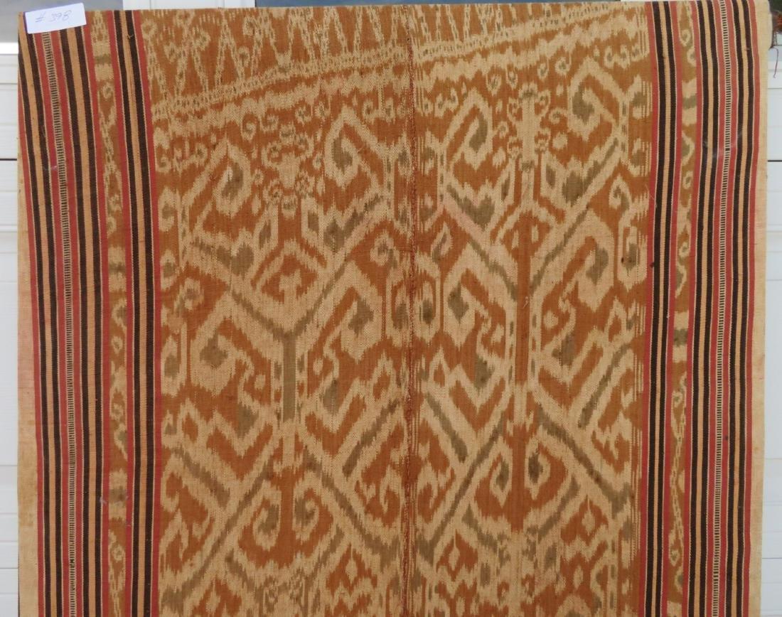 Ikat Indonesian Framed Textile - 8