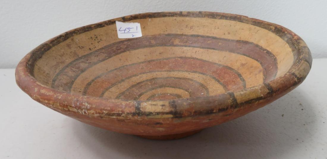 Fine Pre-Columbian Plate & Figure - 2