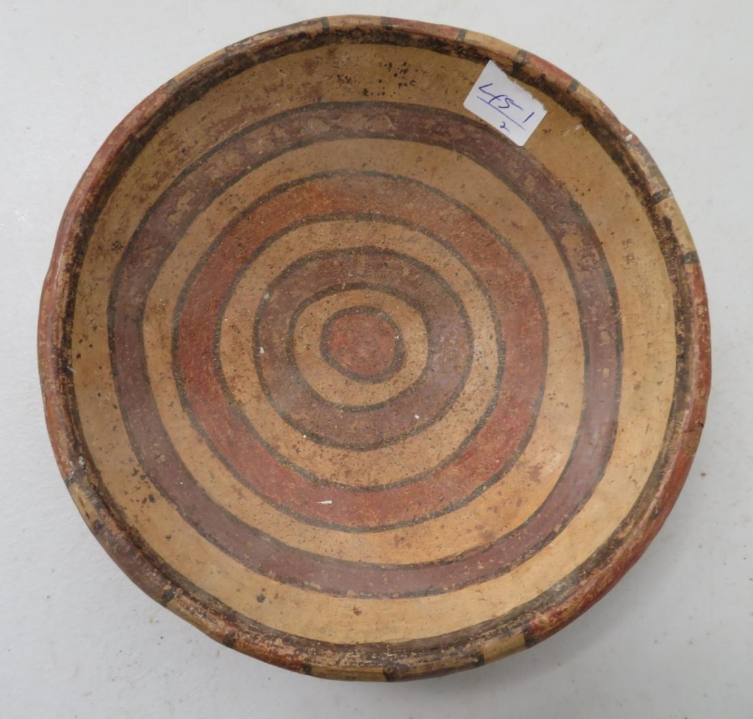 Fine Pre-Columbian Plate & Figure - 3