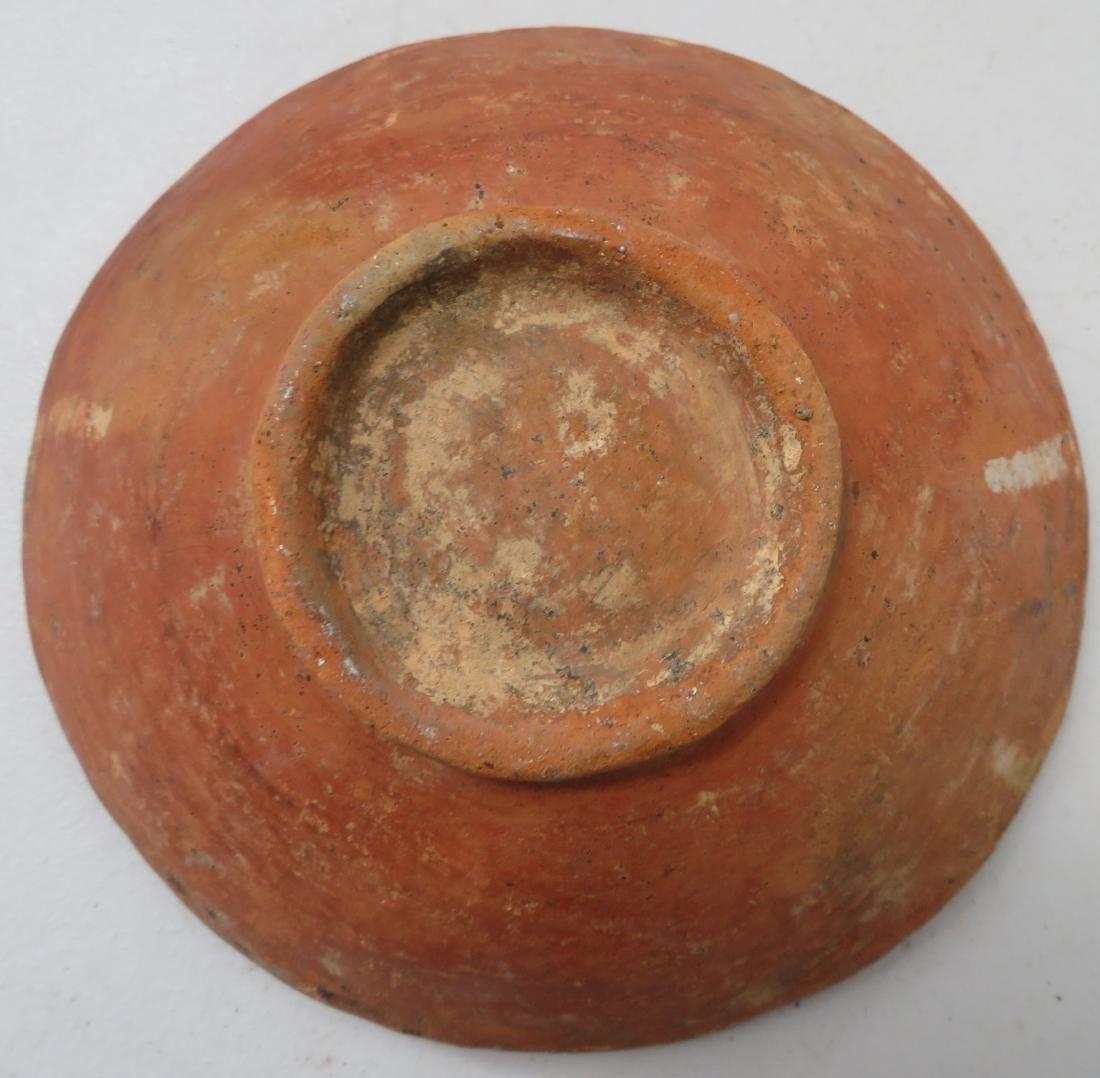 Fine Pre-Columbian Plate & Figure - 5
