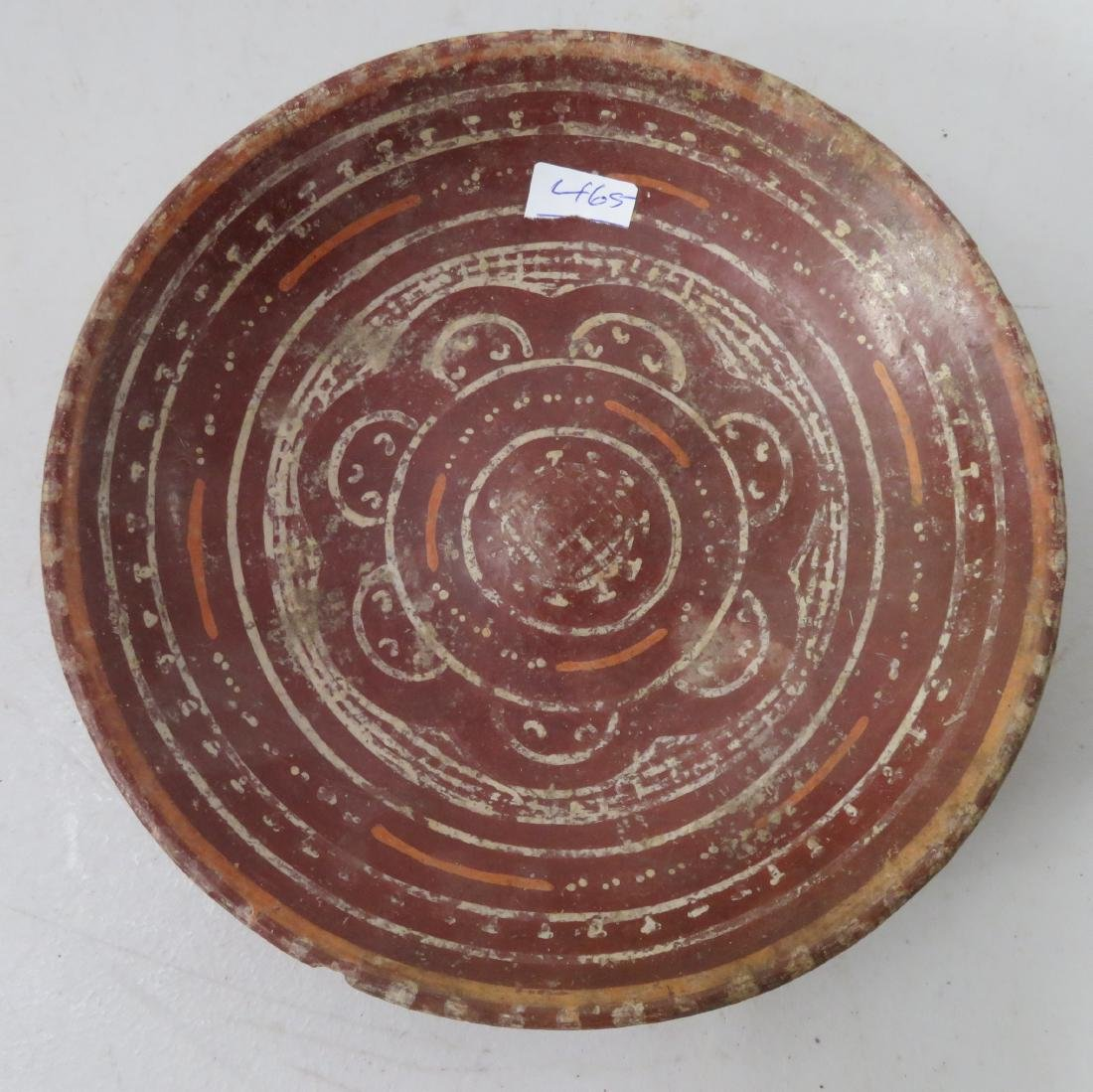 Fancy Painted Plate - 2