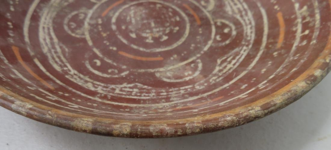 Fancy Painted Plate - 3