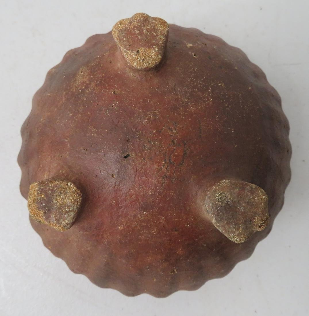 Footed Melon Pot - 6