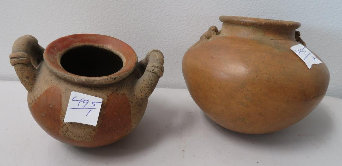 2 Pre-Columbian Bowls
