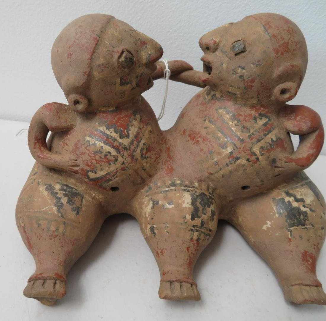 Conjoined Clay Figure - 3