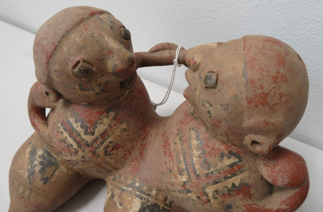 Conjoined Clay Figure - 4