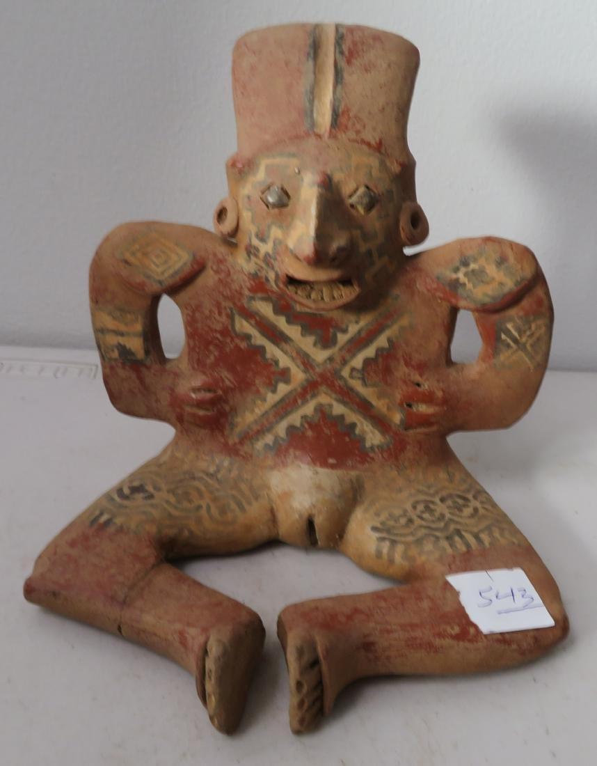Large Ceramic Human Figure
