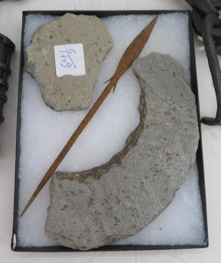 Artifacts & Leg Irons - 2