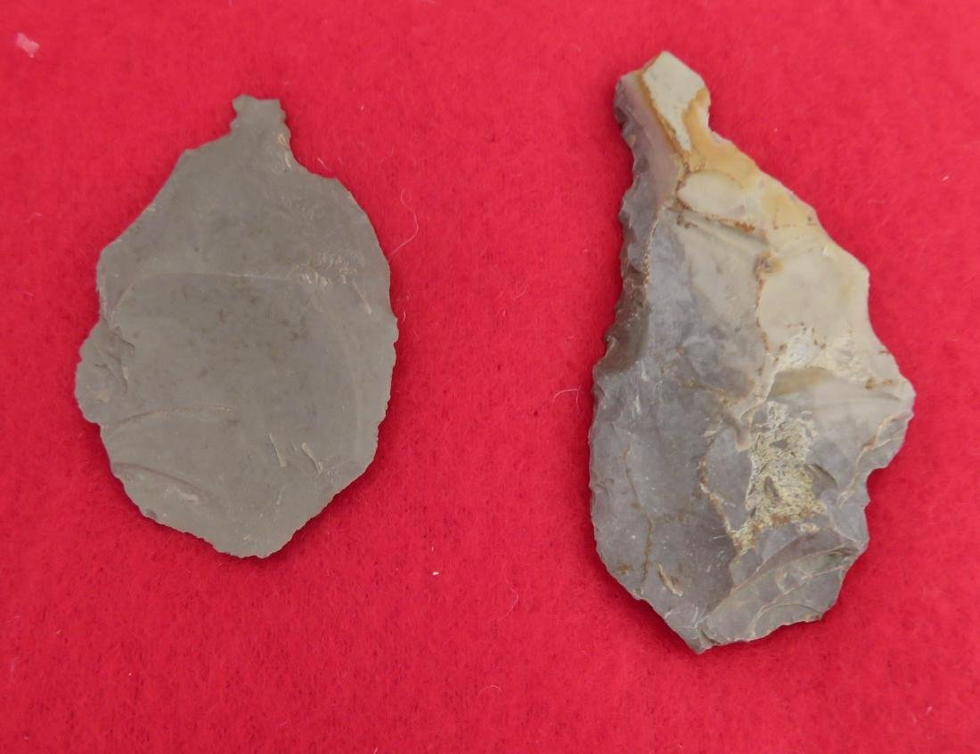 Japanese Arrowhead Flint Artifact Collection - 10