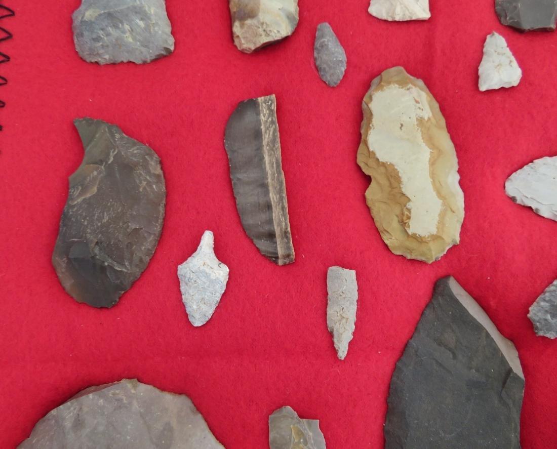 Japanese Arrowhead Flint Artifact Collection - 4