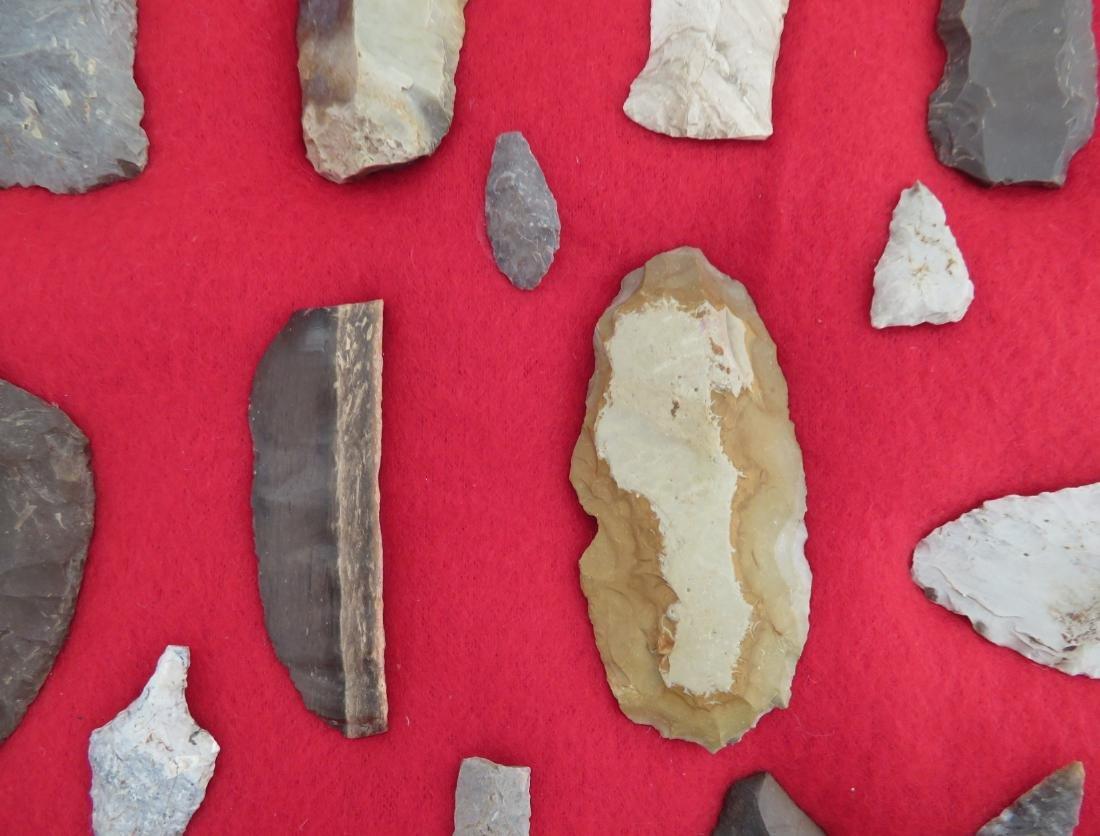 Japanese Arrowhead Flint Artifact Collection - 6