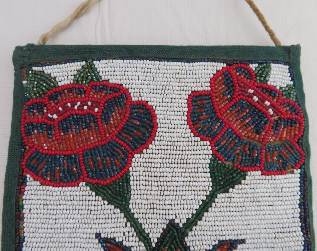 Nez Perce Beaded Bag - 3
