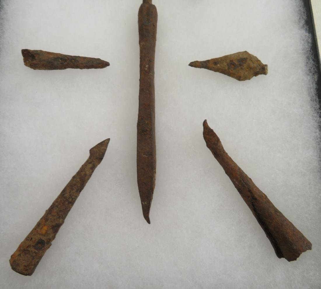 Ancient Iron Points - 10