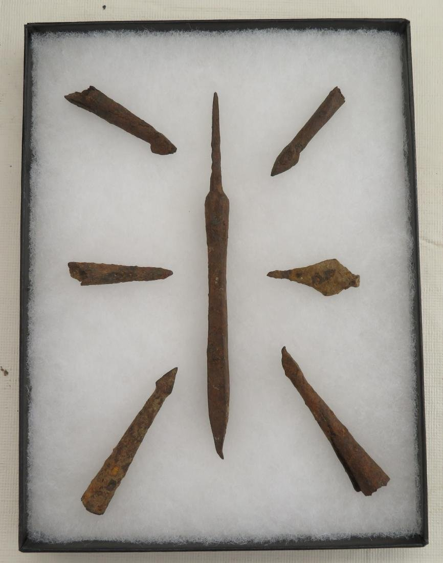 Ancient Iron Points
