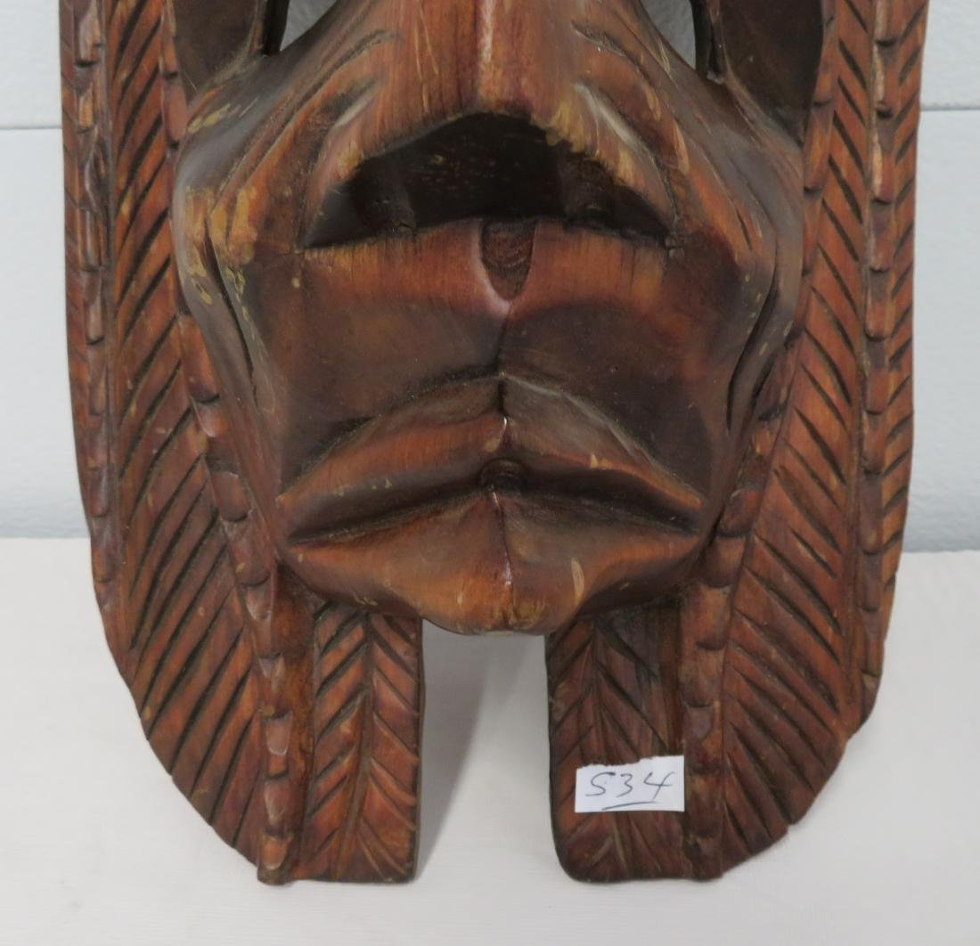 Old Mexican Mask - 4