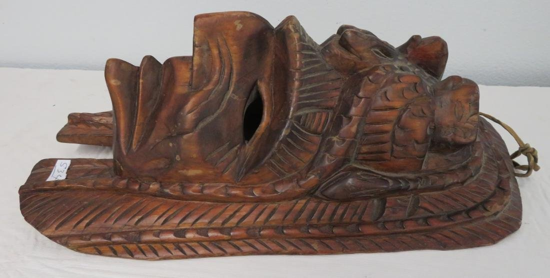 Old Mexican Mask - 5