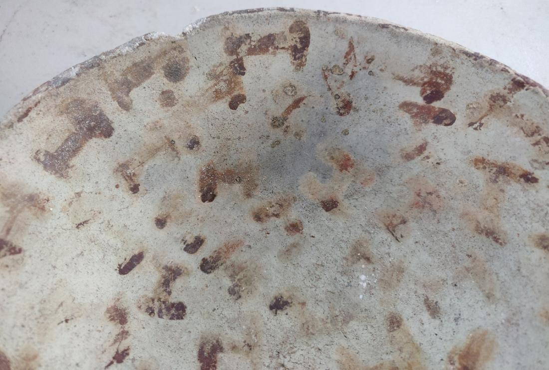 Hohokam Painted Clay Dish - 4