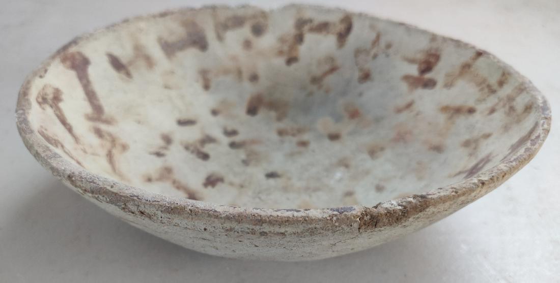 Hohokam Painted Clay Dish - 9