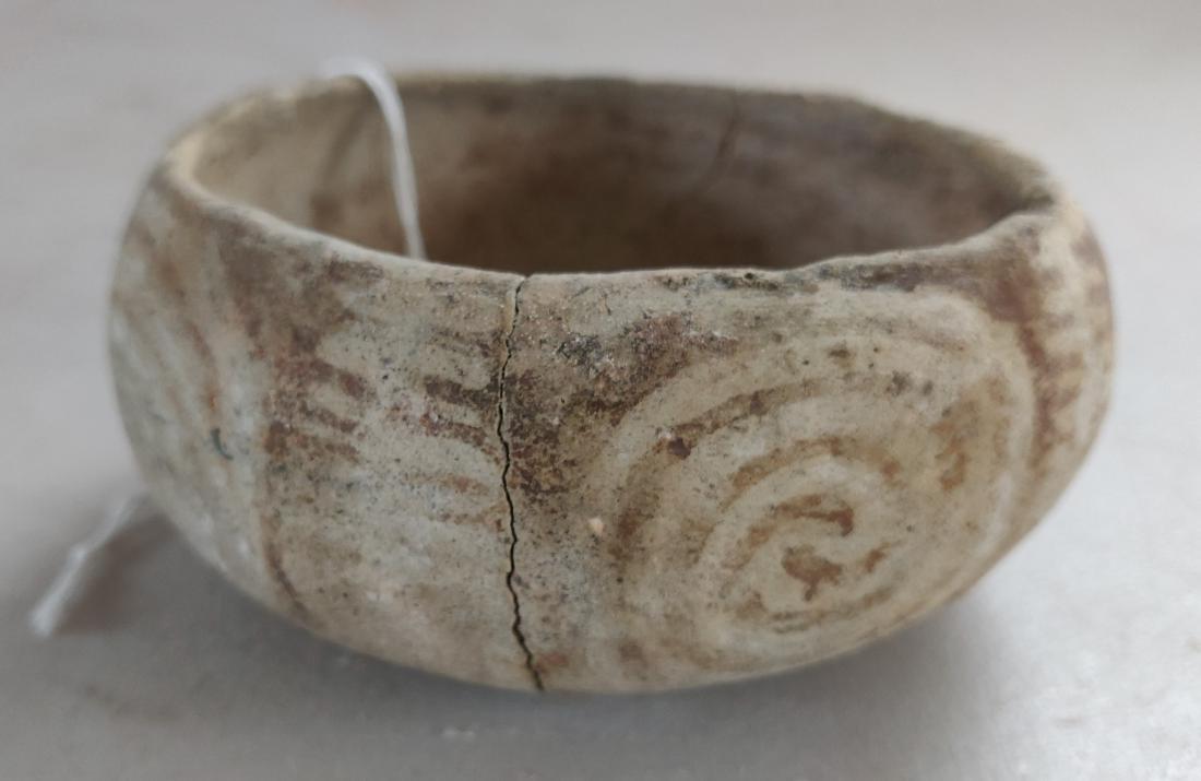 Hohokam Painted Clay Bowl - 2