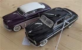 2 Danbury Mint Mercury Toy Car Models