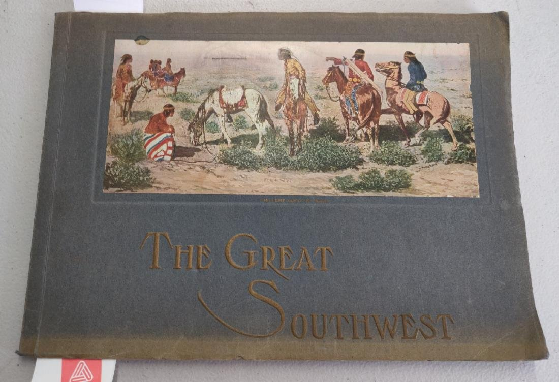 Fred Harvey Indian Book