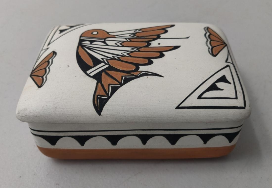 Acoma Pottery Box