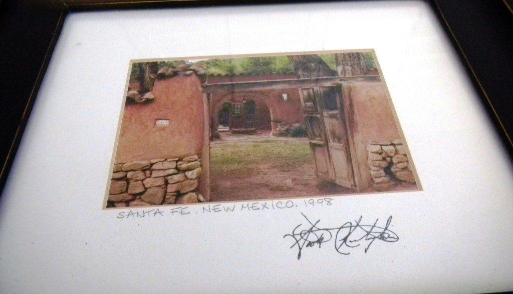 11: Framed Photo of Santa Fe by Scott Christopher 1998