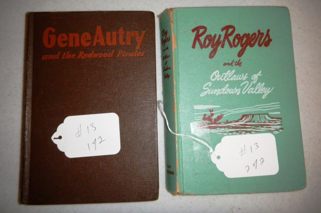 13: Cowboy Books - Roy Rogers and Gene Autry