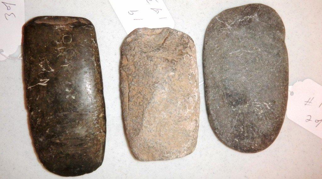 19: Three Prehistoric Arizona Celts