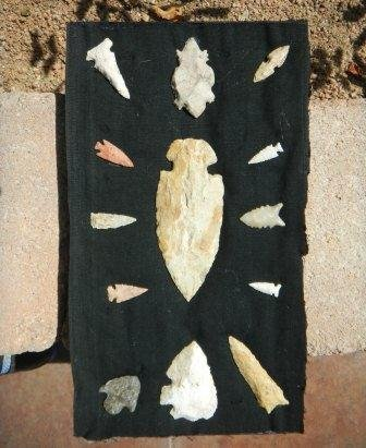7: Group of Thirteen points arrowheads
