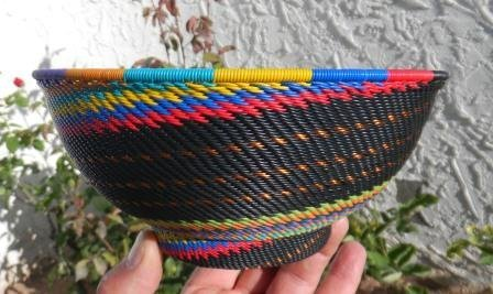 15: African Wire Basket