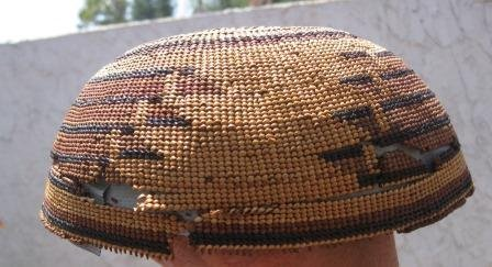 73: Hupa Hat Basket - 3