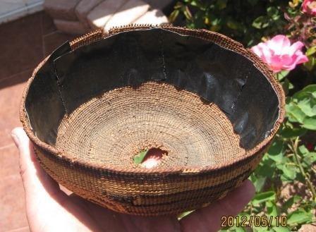 73: Hupa Hat Basket - 4