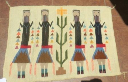 1: Navajo Yei Rug