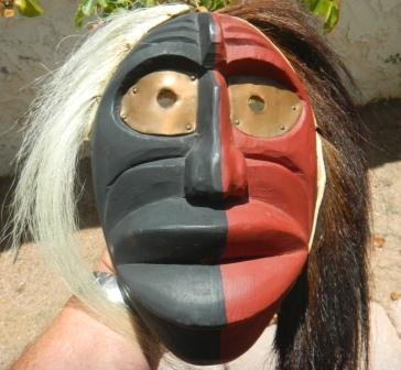 2: Mask Iroquois False Face