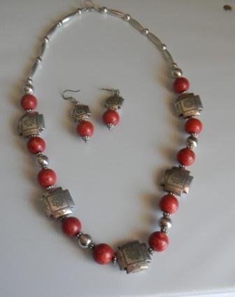 7: Necklace and Earrings