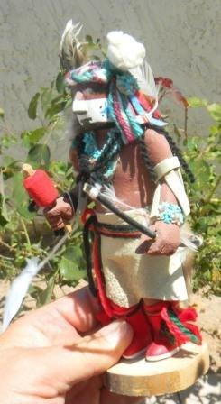 19: Kachina Hopi  Doll