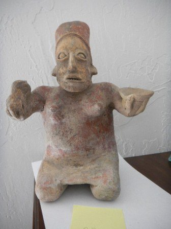 330: Ceramic Pre-Columbian Figure from Jalisco