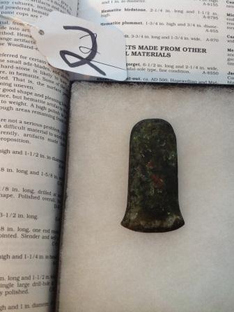 Copper Celt w/documenation