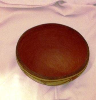 Three color Zia Pot