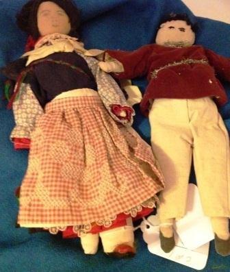 Pair of Pueblo Dolls