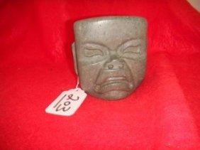 Jadeite Olmec Pre-Columbian Mask