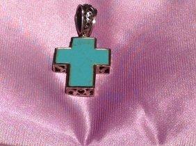 Sterling Silver Reversible Cross