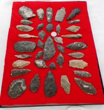 Chumash Flint Collection